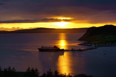 Sunset at Uig